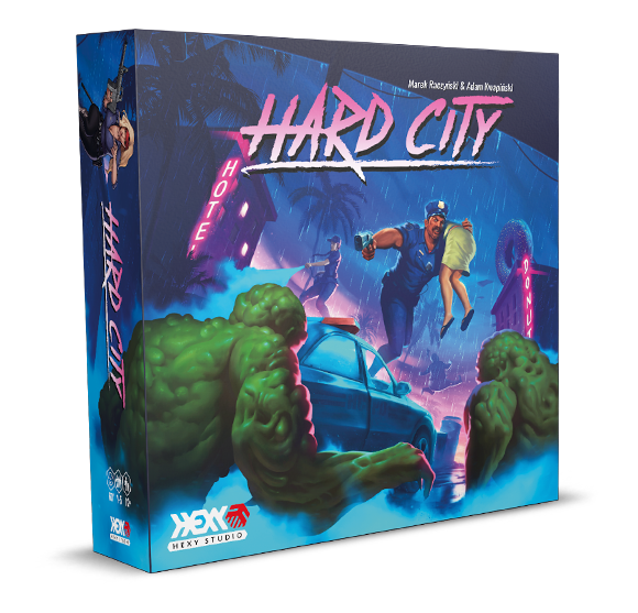 Hard City Box